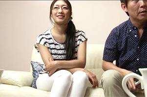 【身長165センチGカップ】40歳美魔女嫁とのセックスを会社の部下に撮らせるドS夫!