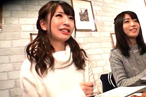 【隠し撮り】ヤリ目で合コンに来た二十歳の激カワ女子大生のワンナイトラブ一部始終!