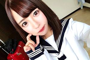 【ナンパ】ウルウル瞳の素人美少女をゲット!10代の美乳美尻ボディをガン突き!