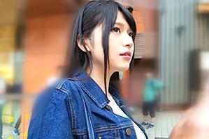 【素人】凄まじい透明感!渋谷駅でくっそ可愛い黒髪女子大生をナンパ!