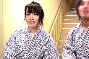 【素人】経済学部のGカップ3年生に箱根で家族旅行中の弟と「温泉で局部洗いっこ」指令!