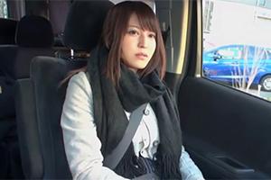 「欲しいの…中に出して!!」会ったばかりのおじさんに中出し懇願する香川のモデル級美容学生