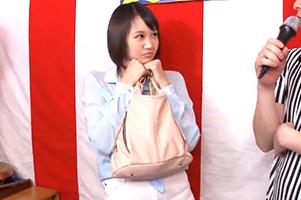 【負けたら即レイプ】京都の激カワ女子大生が賞金100万円を目指して腕相撲3人抜きに挑戦!