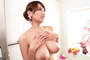 「す、すげー乳!!」10分射精ガマンできたら日本最高峰のパーフェクトBODYをハメる権利ゲット!