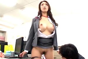 『うっひょー!すげーカラダ!』オフィスで時間をストップして憧れの爆乳女上司を犯しまくる!