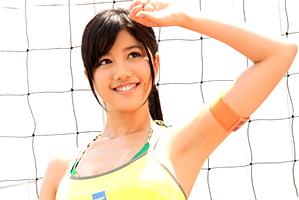 【19歳】引き締まった腹筋!プリッとしたお尻!沖縄の小麦肌美人バレー選手をハメる!