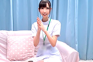 【マジックミラー号】『これ気持ちいいですか?』マジ天使!フェラ〜素股〜中出しまで何でもしてくれる激かわ看護師