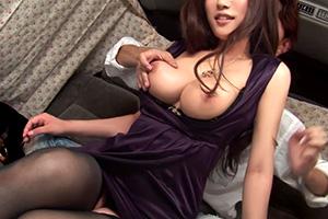 【人妻ナンパ】『うひょーこのおっぱい最高!』巨乳な三十路妻とホテルで生中出しセックス