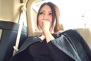 【人妻ナンパ】旦那よりデカイ他人様のチンポに興奮する三十路巨乳妻!
