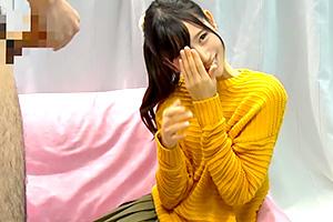 【MM号】「恥ずかしくて見れない…」美少女ナースが早漏改善サポート!