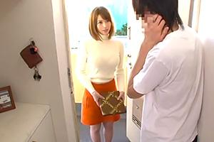 隣の奥さんの喘ぎ声を注意すると恥ずかしそうに謝りに来たので…