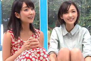 【マジックミラー号】夏休み中に温泉旅行にやってきた美少女たちに電マのモニター調査!