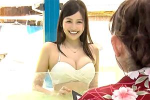 <マジックミラー号>「中出しなんて聞いてないよ…」初対面男女が混浴からのセックス